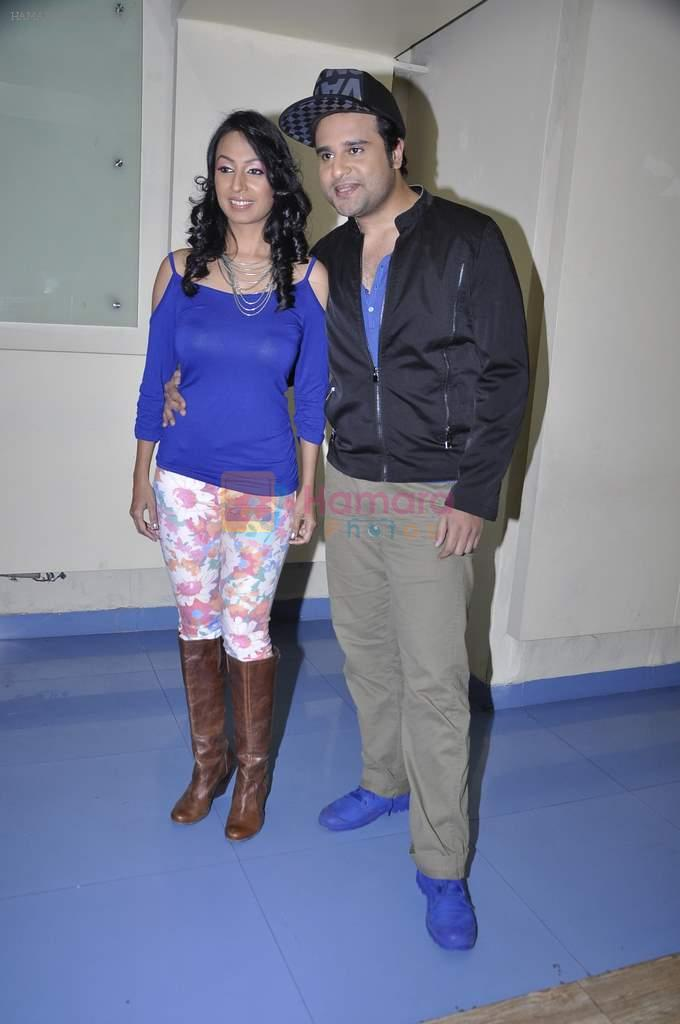 Kashmira Shah and Krishna promote new years bash for Country Club in Andheri, Mumbai on 30th Dec 2013