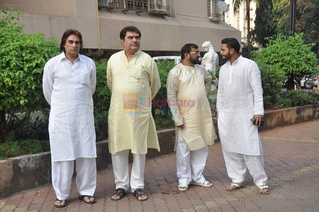 Raza Murad at Farooq Shaikh's prayer meet in Mumbai on 30th Dec 2013