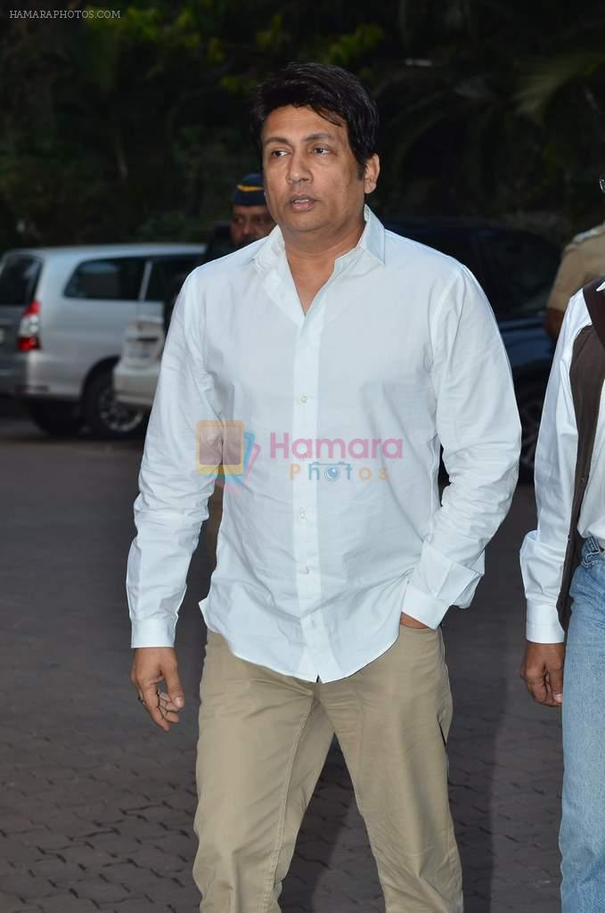 Shekhar Suman at Farooq Shaikh's prayer meet in Mumbai on 30th Dec 2013