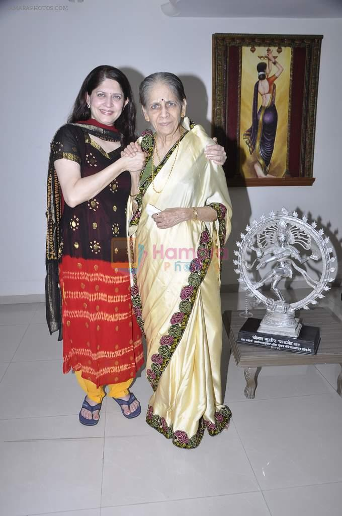 Archana Joglekar, Asha Joglekar at the Launch of Asha Joglekar's dance academy Archana Nrityalaya in Mumbai on 30th Dec 2013