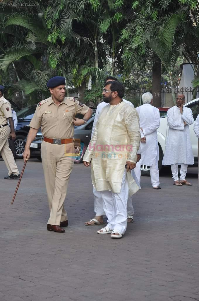 at Farooq Shaikh's prayer meet in Mumbai on 30th Dec 2013