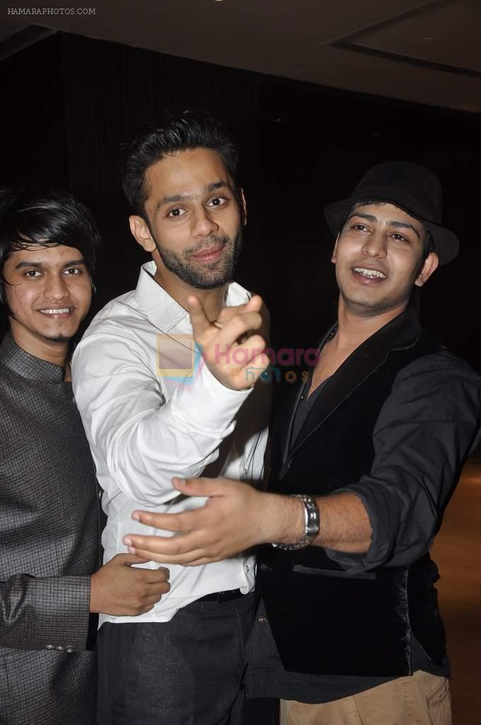Rahul Vaidya at singer Toshi Sabri's wedding reception in Novotel, Mumbai on 13th Jan 2014