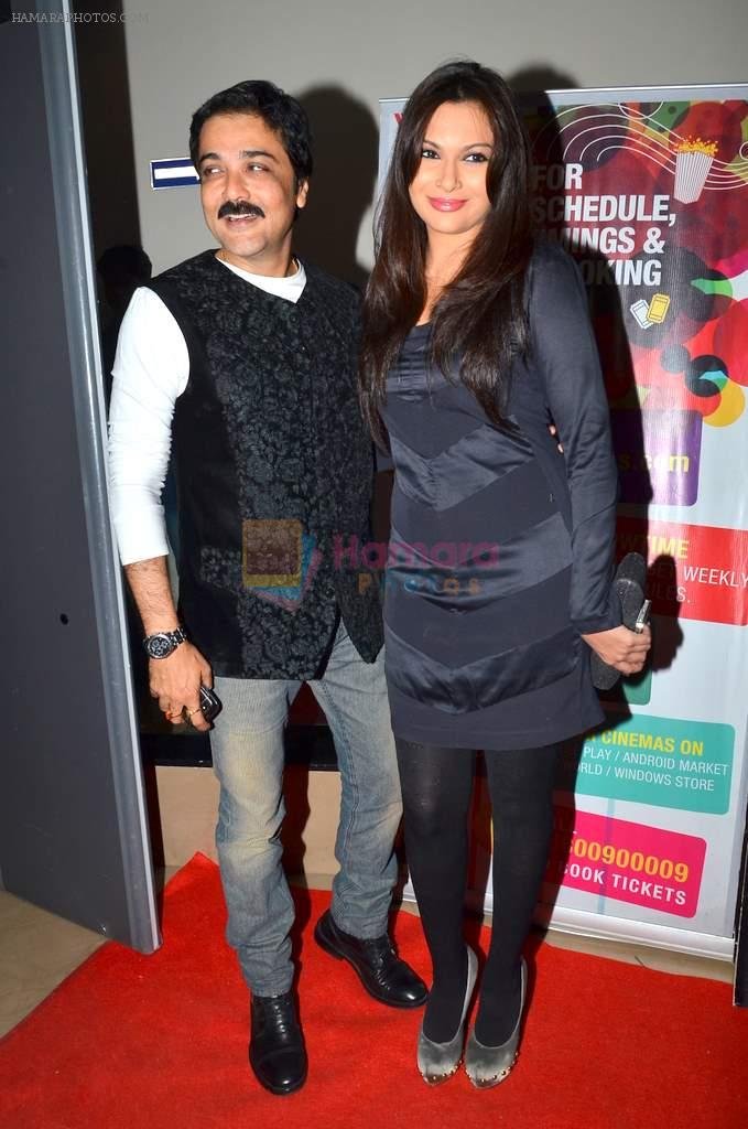 Mrinalini Sharma at Prosenjit's film screening in PVR, Mumbai on 13th Jan 2014
