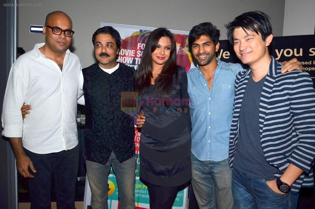 Mrinalini Sharma, Meiyang Chang at Prosenjit's film screening in PVR, Mumbai on 13th Jan 2014
