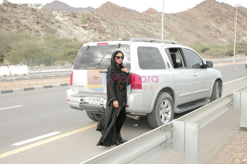 Veena Malik's First Road Trip with Asad Bashir Khan after Marriage