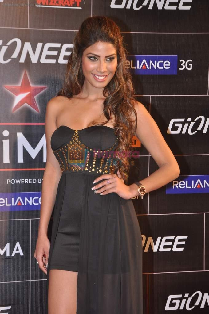 Nicole Faria at 4th Gionne Star Global Indian Music Academy Awards in NSCI, Mumbai on 20th Jan 2014