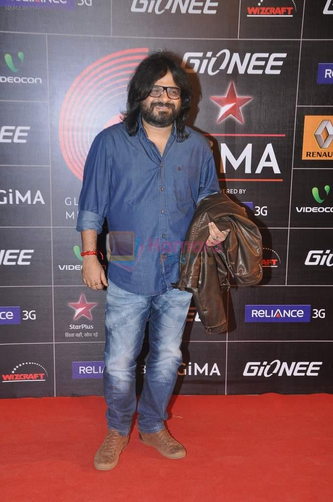 Pritam Chakraborty at 4th Gionne Star Global Indian Music Academy Awards in NSCI, Mumbai on 20th Jan 2014