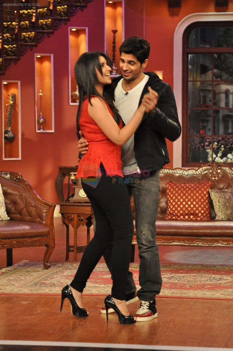 Parineeti Chopra And Siddharth In Comedy Nights With Kapil