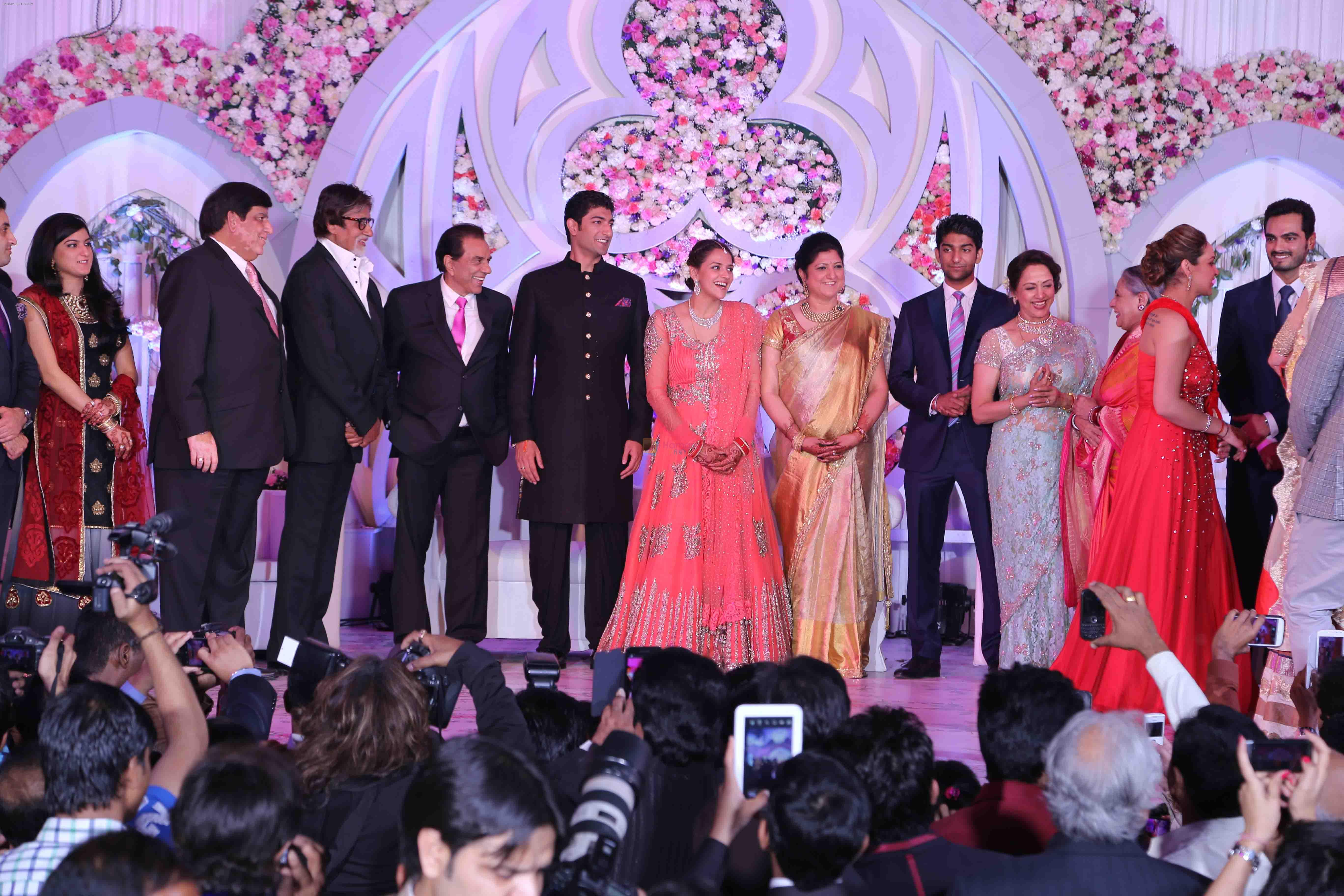 Ahana Deol & Vaibhav Vohra Wedding in Mumbai on 2nd Feb 2013