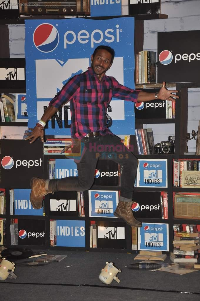 Nikhil Chinapa at MTV Indies Event in Mumbai on 20th Feb 2014