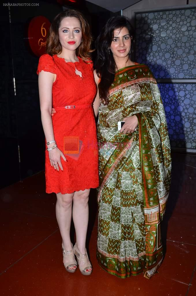 Kirti Kulhari, Saidah Jules at the First look & theatrical trailer launch of Jal in Cinemax on 25th Feb 2014