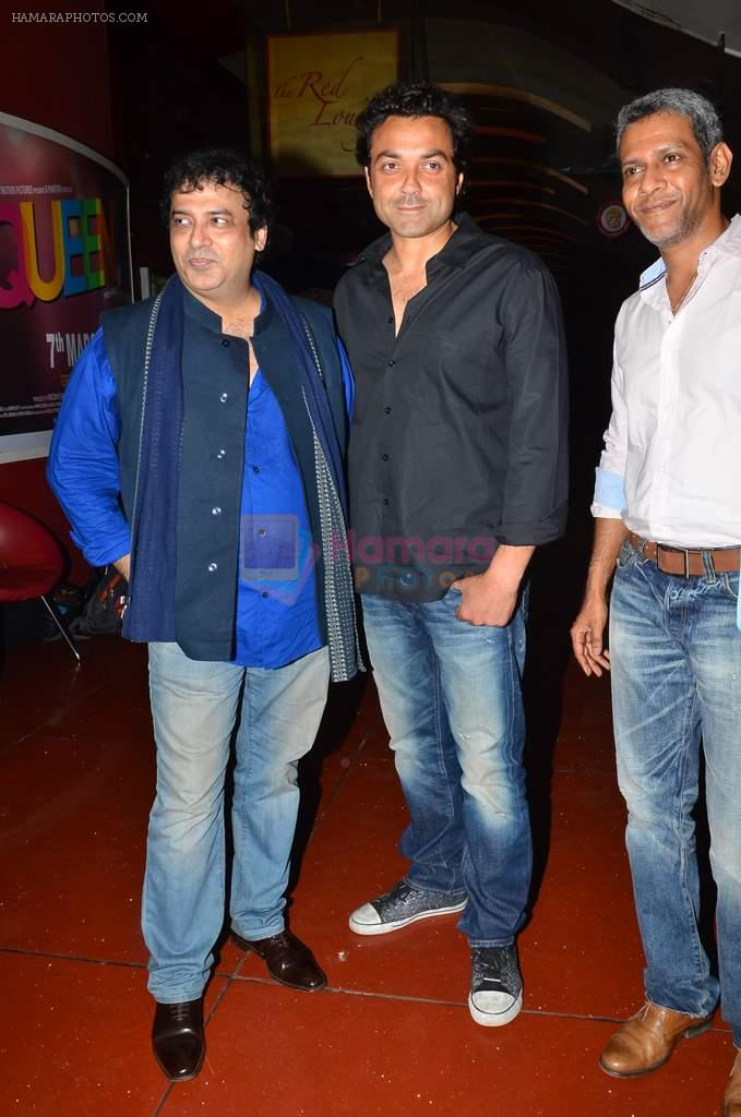 Girish Malik, Bobby Deol at the First look & theatrical trailer launch of Jal in Cinemax on 25th Feb 2014