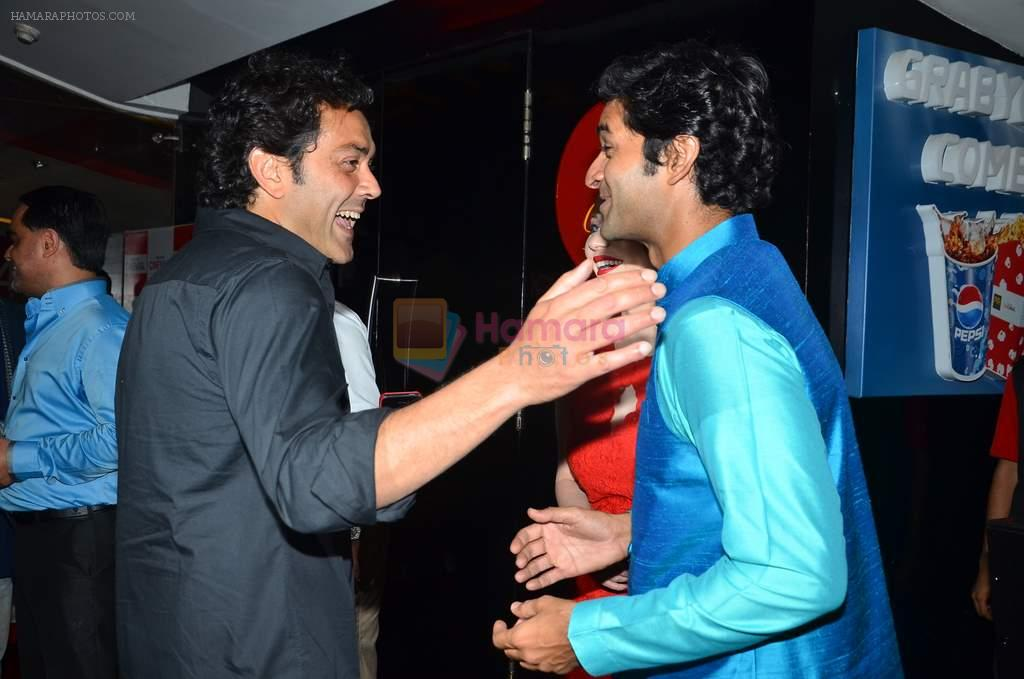 Bobby Deol, Purab Kohli, Saidah Jules at the First look & theatrical trailer launch of Jal in Cinemax on 25th Feb 2014