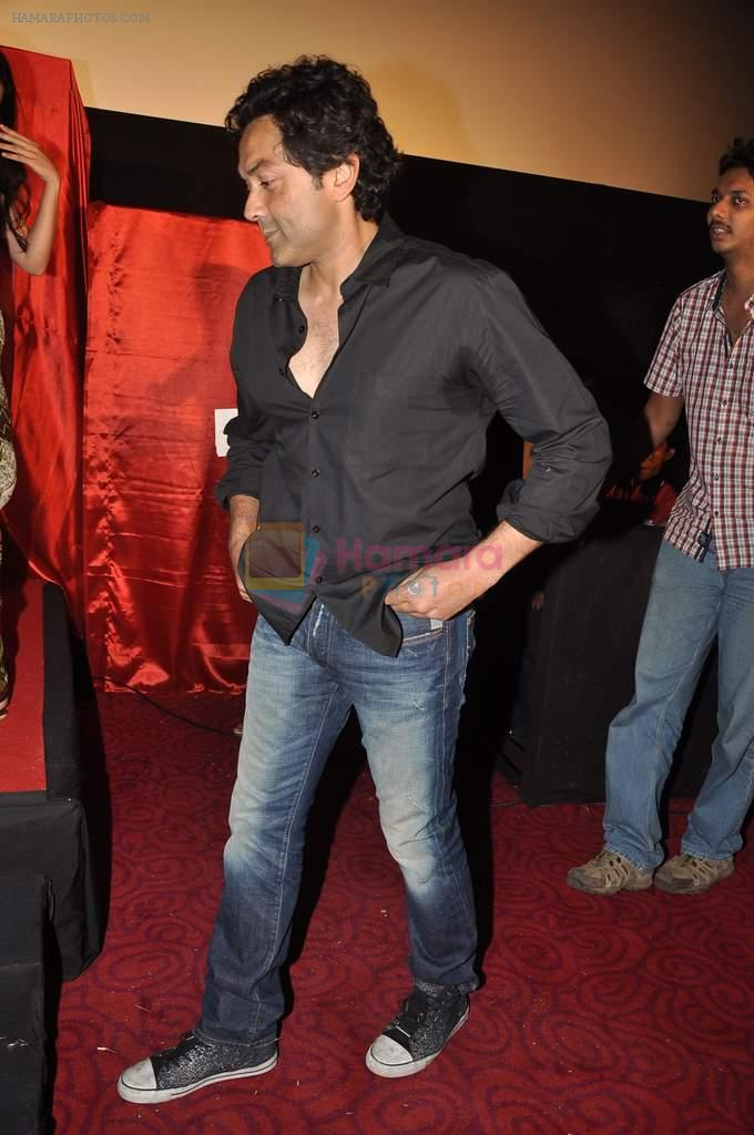 Bobby Deol at the First look & theatrical trailer launch of Jal in Cinemax on 25th Feb 2014