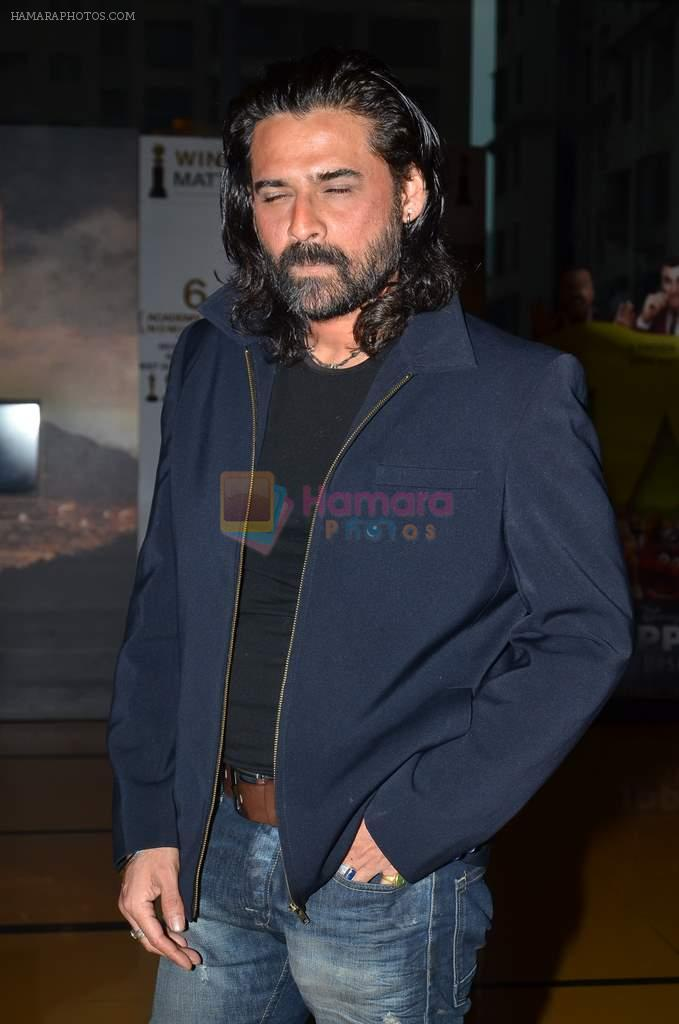 Mukul Dev at the First look & theatrical trailer launch of Jal in Cinemax on 25th Feb 2014