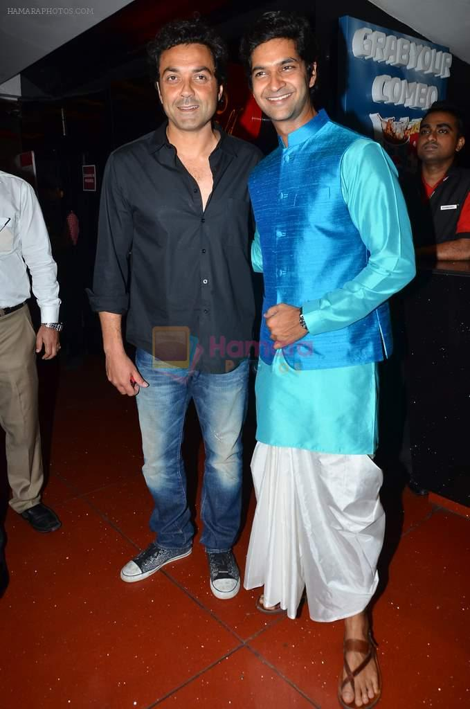 Purab Kohli, Bobby Deol at the First look & theatrical trailer launch of Jal in Cinemax on 25th Feb 2014