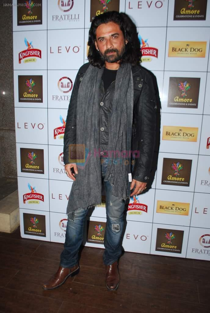 Mukul Dev at Amore party in LEVO, Mumbai on 26th Feb 2014
