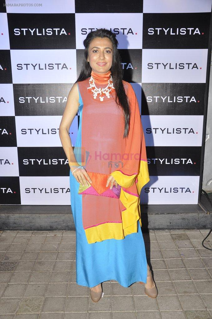 Mini Mathur at Stylista bash in honour of Wendell Rodricks in 212, Mumbai on 5th March 2014