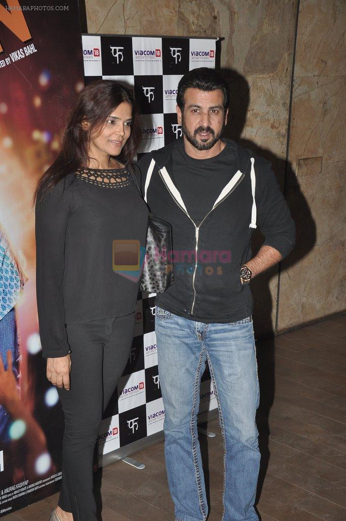 Ronit Roy at Queen Screening in Lightbox, Mumbai on 8th March 2014