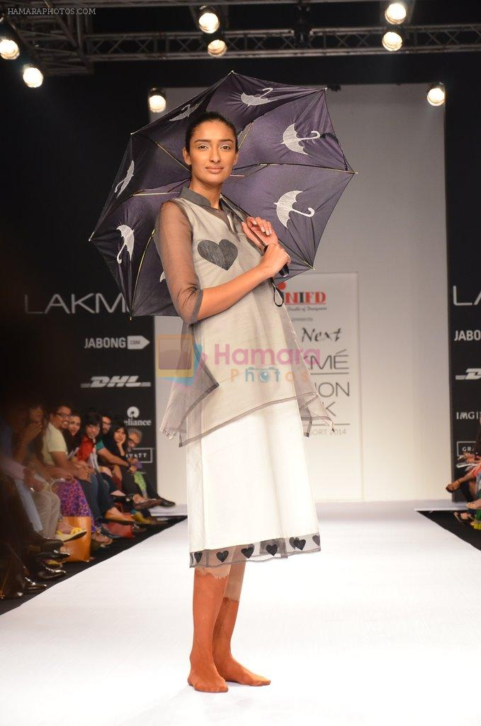 Model walk for Gen Next Show at LFW 2014 Day 1 in Grand Hyatt, Mumbai on 12th March 2014