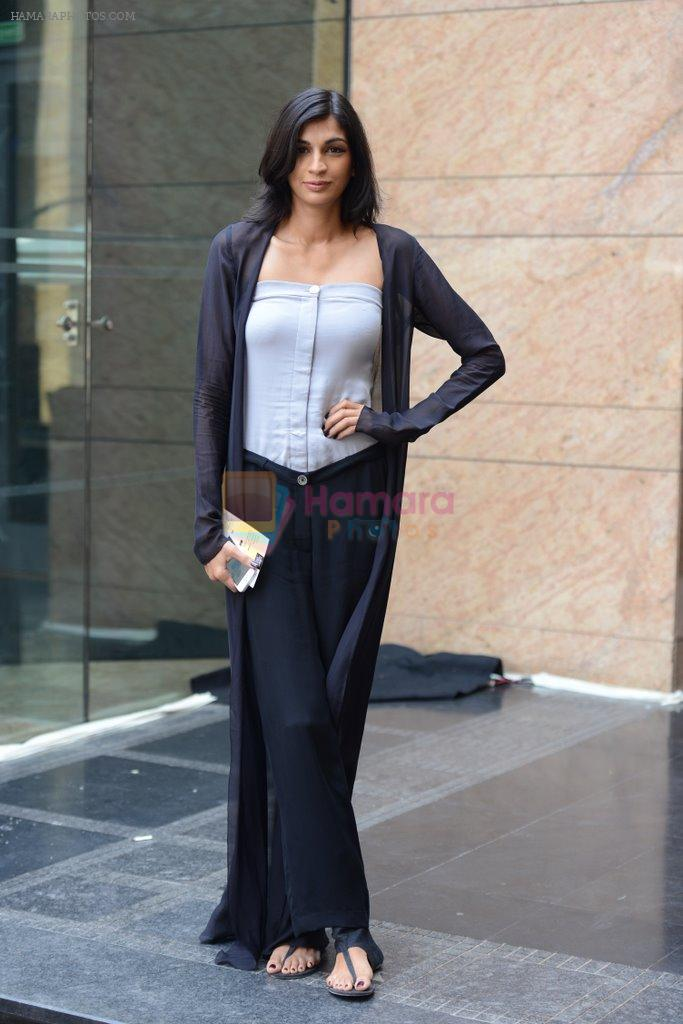 Anushka Manchanda on Day 1 at LFW 2014 in Grand Hyatt, Mumbai on 12th March 2014