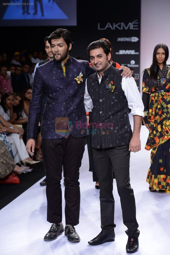 Ali Fazal walk for Digvijay Singh Show at LFW 2014 Day 1 in Grand Hyatt, Mumbai on 12th March 2014