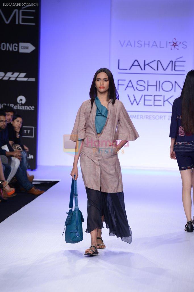 Model walk for Vaishali S Show at LFW 2014 Day 1 in Grand Hyatt, Mumbai on 12th March 2014