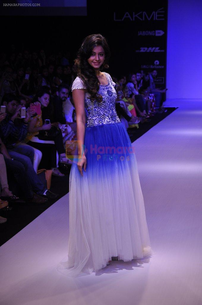 Rakul Preet Singh walk for KHEM Show at LFW 2014 Day 2 in Grand Hyatt, Mumbai on 13th March 2014