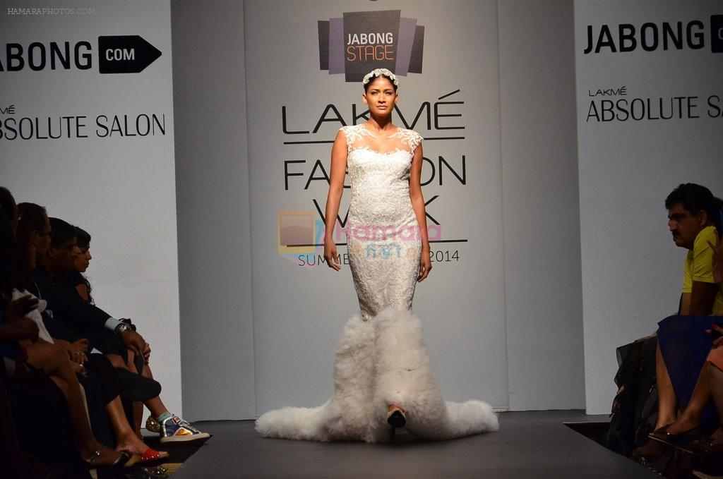 Carol Gracias walk for Carleo Show at LFW 2014 Day 2 in Grand Hyatt, Mumbai on 13th March 2014