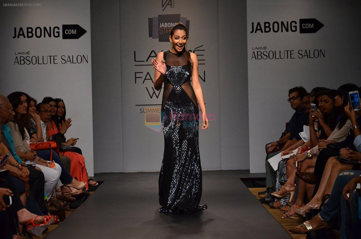 Monica Dogra walk for Veda Raheja Show at LFW 2014 Day 2 in Grand Hyatt, Mumbai on 13th March 2014