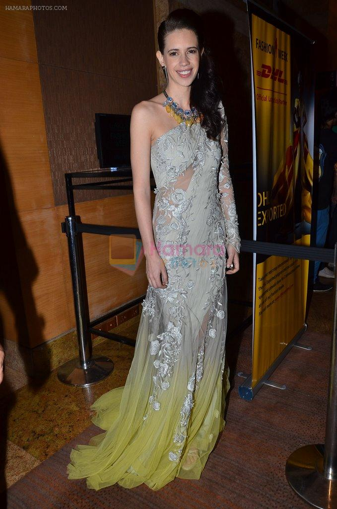 Kalki Koechlin on Day 2 at LFW 2014 in Grand Hyatt, Mumbai on 13th March 2014