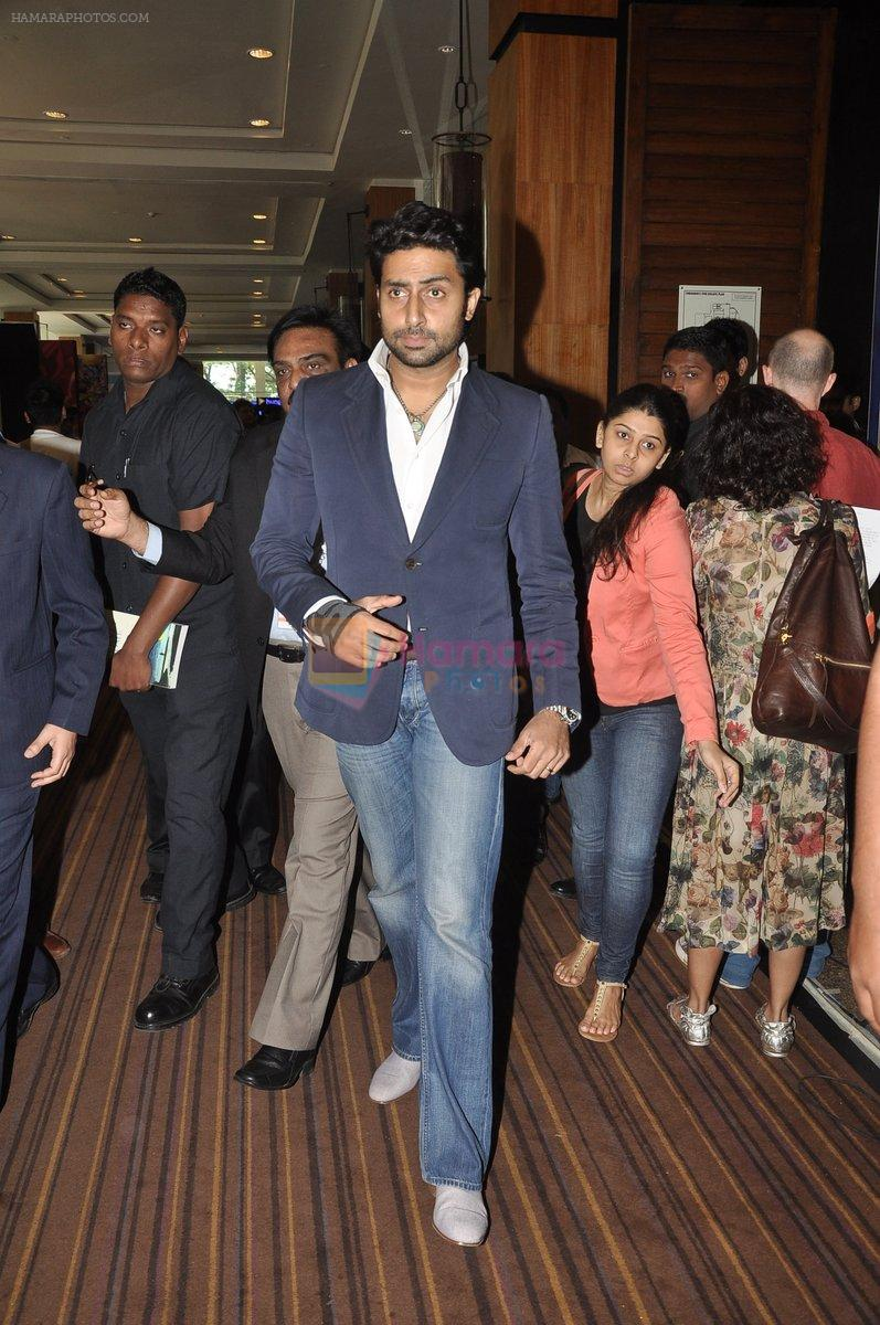 Abhishek Bachchan at FICCI-FRAMES 2014 in Mumbai on 13th March 2014