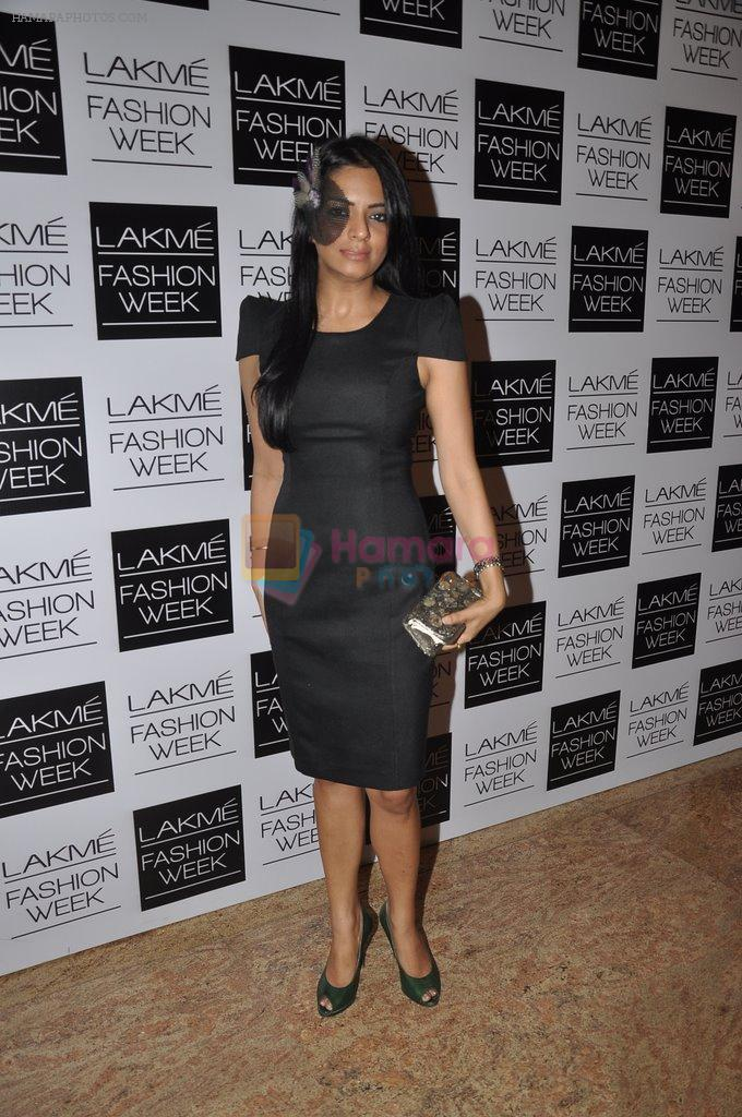 on Day 2 at LFW 2014 in Grand Hyatt, Mumbai on 13th March 2014