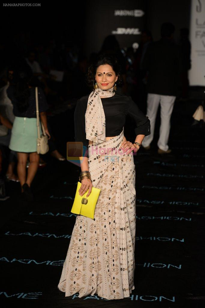 Maria Goretti on Day 2 at LFW 2014 in Grand Hyatt, Mumbai on 13th March 2014
