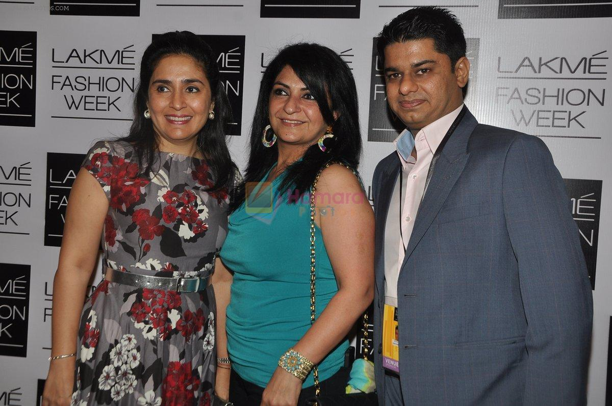 at Love From India Show at LFW 2014 Day 2 in Grand Hyatt, Mumbai on 13th March 2014