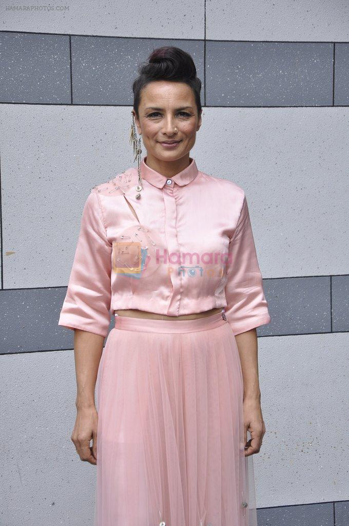 Adhuna Akhtar on Day 2 at LFW 2014 in Grand Hyatt, Mumbai on 13th March 2014