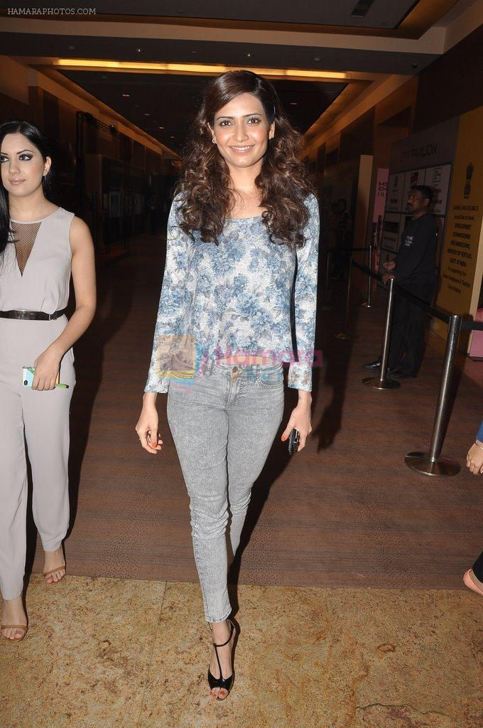Karishma Tanna on Day 2 at LFW 2014 in Grand Hyatt, Mumbai on 13th March 2014