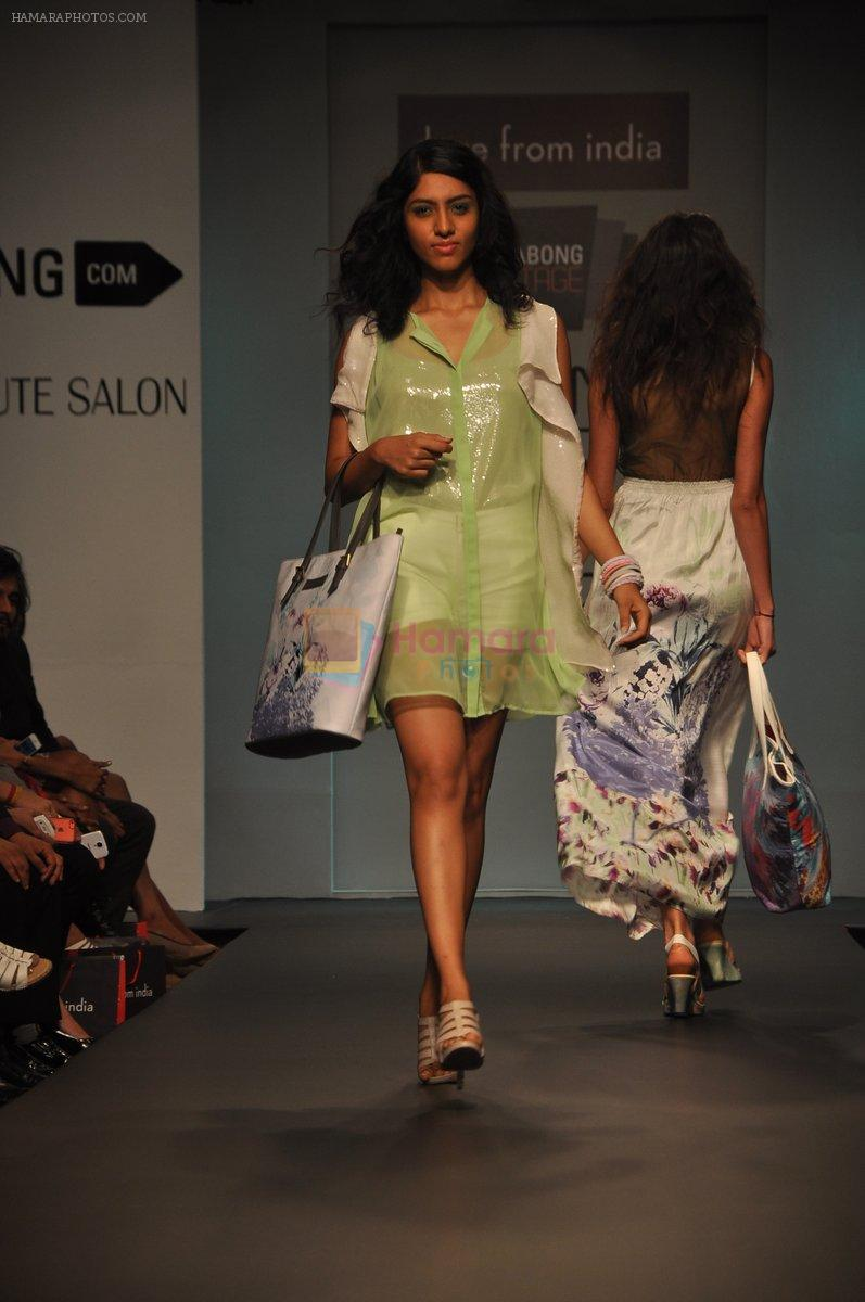 Model walk for Love From India Show at LFW 2014 Day 2 in Grand Hyatt, Mumbai on 13th March 2014