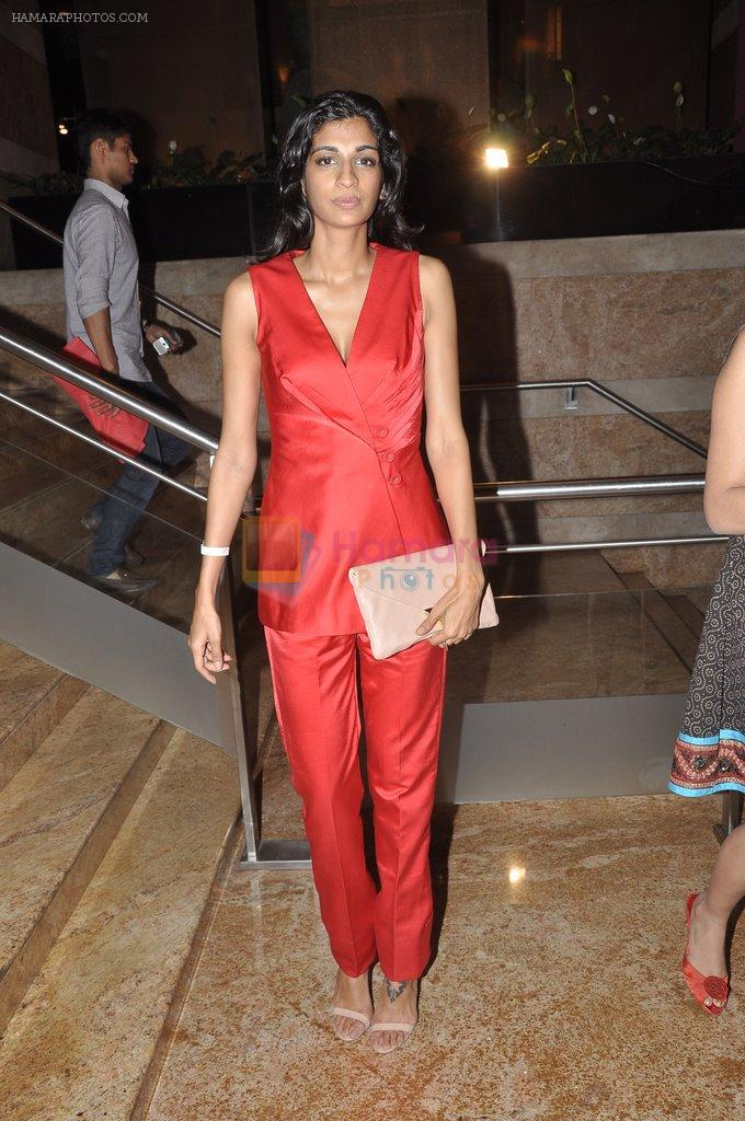 Anushka Manchanda on Day 2 at LFW 2014 in Grand Hyatt, Mumbai on 13th March 2014