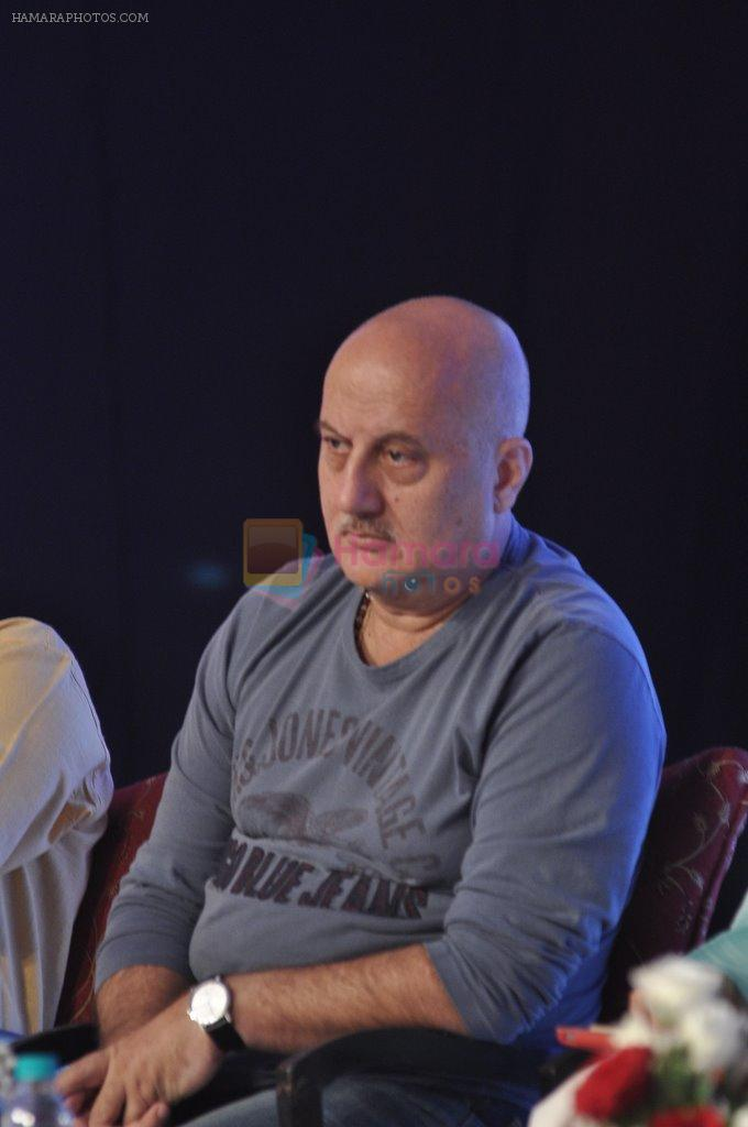 Anupam Kher at  FICCI FRAMES 2014 in Mumbai on 14th March 2014