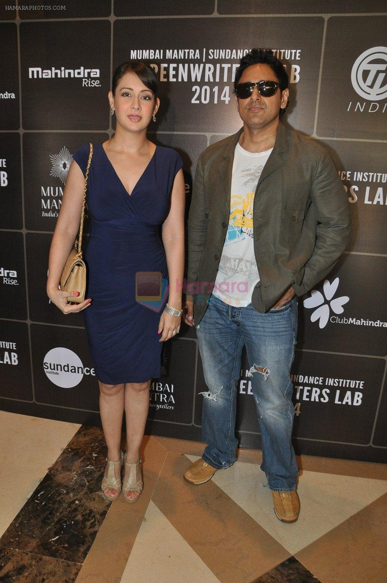 Preeti Jhangiani, Pravin Dabas at Mumbai Mantra-Sundance Screenwriters Brunch in Mumbai on 17th March 2014
