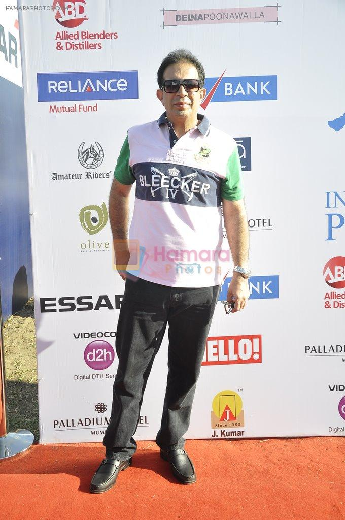 Parvez Damania at Polo Match with Trapiche by Sula Wines in Course, Mumbai on 22nd March 2014