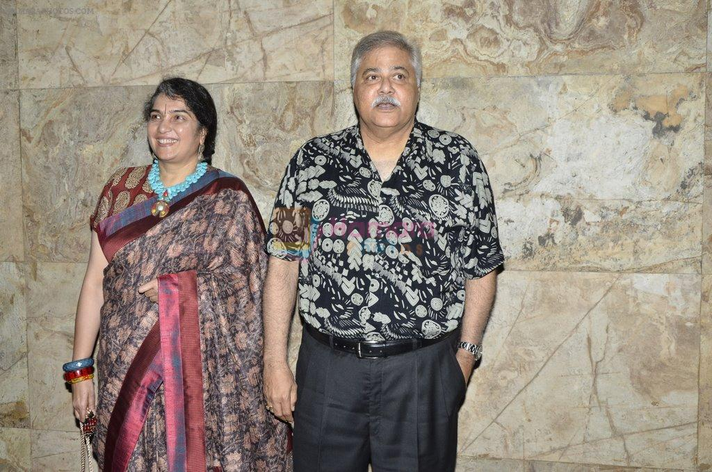 Satish Shah at Club 60 screening on occasion of 100 days and tribute to Farooque Shaikh in Lightbox, Mumbai on 23rd March 2014