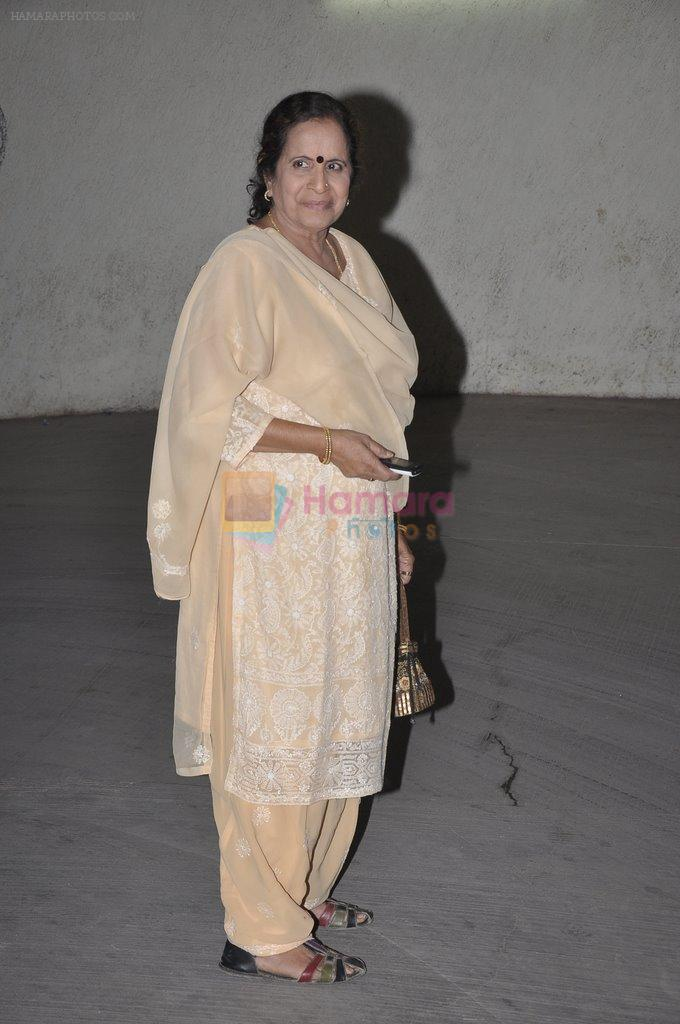 Usha Nadkarni at Bhoothnath Returns screening in Cinemax, Mumbai on 5th April 2014