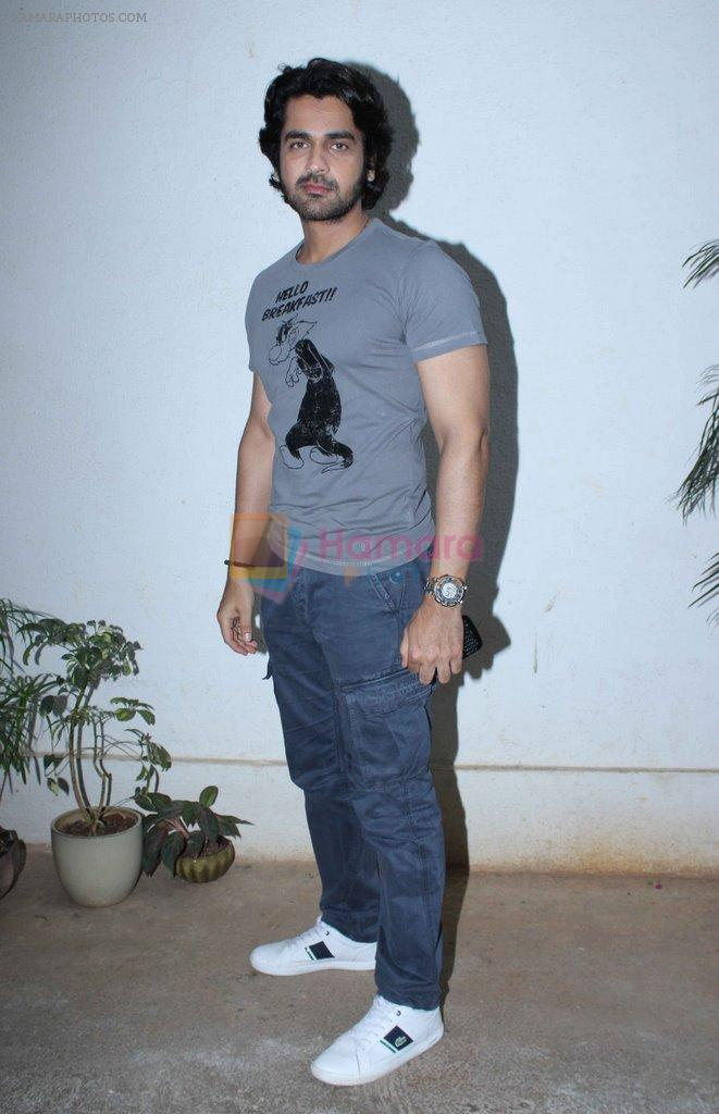 Arjan Bajwa at Dekh Tamasha Dekh spcecial screening in Mumbai on 13th April 2014