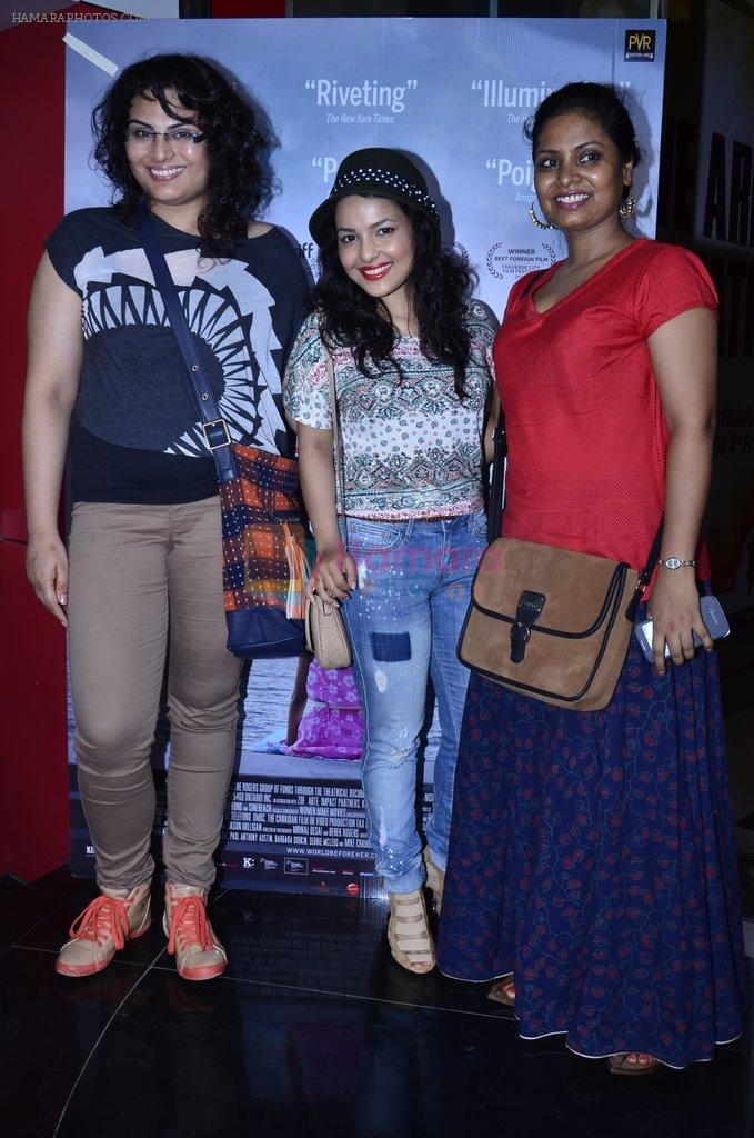 Chitrashi Rawat at WIFT India premiere of The World Before Her in Mumbai on 31st May 2014