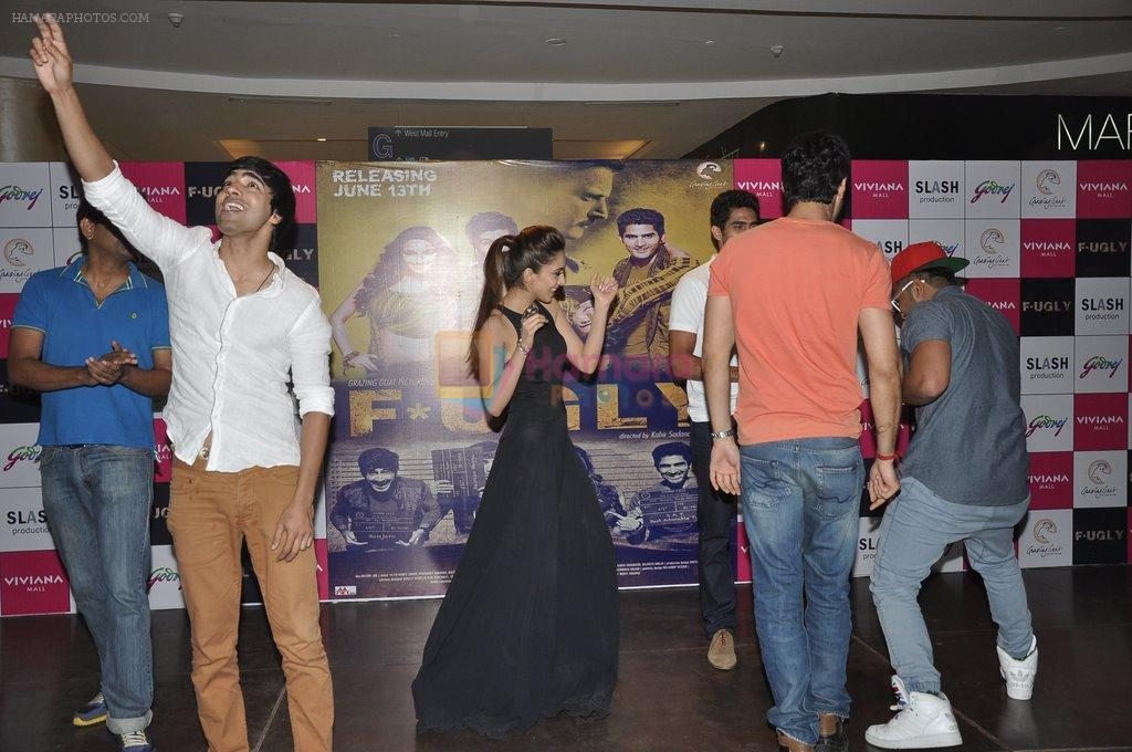 Arfi Lamba, Kiara Advani, Vijender Singh, Mohit Marwah with Fugly team visits Viviana Mall in Thane on 1st June 2014