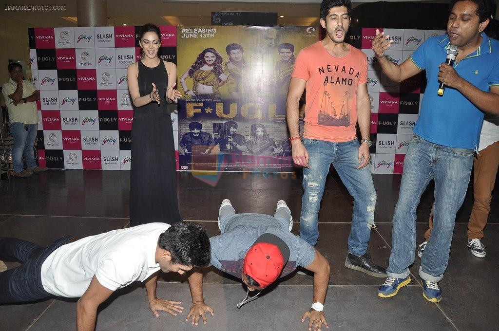 Kiara Advani, Vijender Singh, Mohit Marwah with Fugly team visits Viviana Mall in Thane on 1st June 2014
