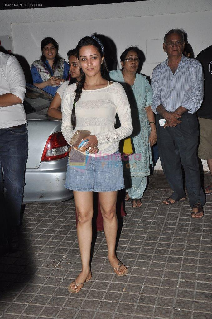 Anita Hassanandani snapped at PVR on 4th June 2014