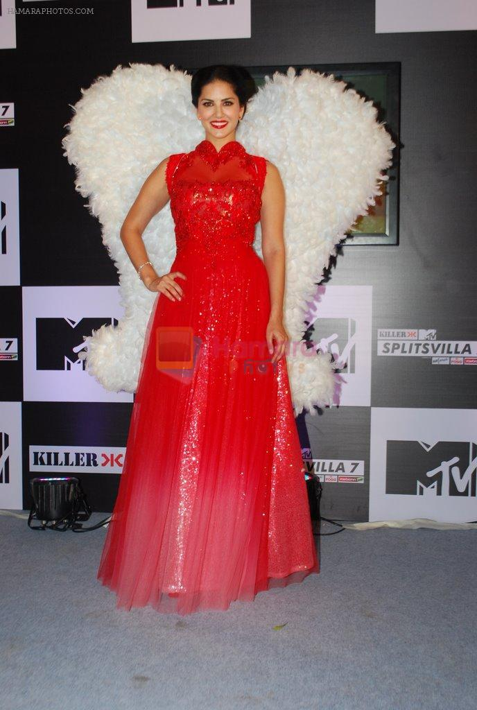 Sunny Leone at MTV Splitsvilla event in Mumbai on 4th June 2014